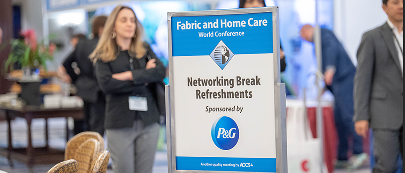 Be a sponsor at Fabric and Home Care Conference